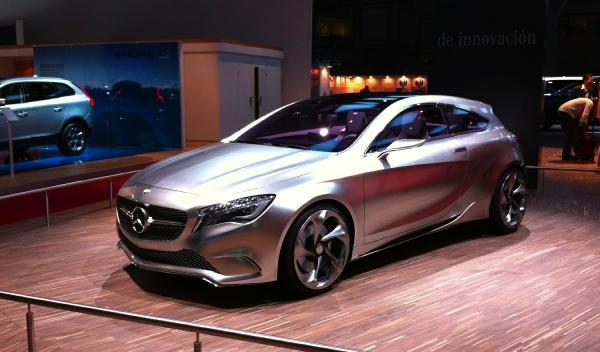 Mercedes Concept A-Class Salón Barcelona 2011