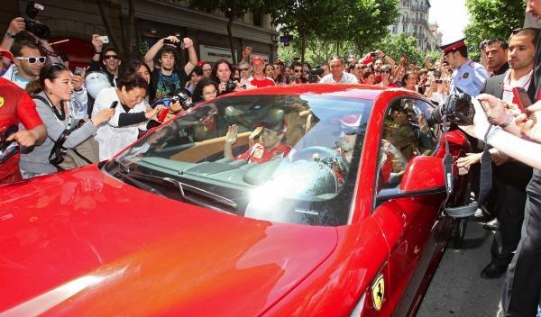 Inauguración 'Ferrari Store' Barcelona ff