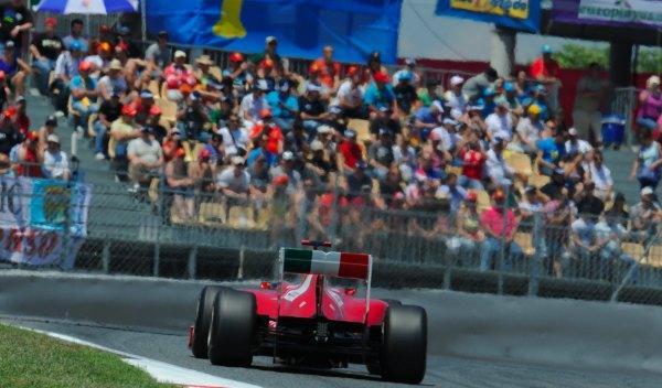 Fernando Alonso-calificación Montmeló