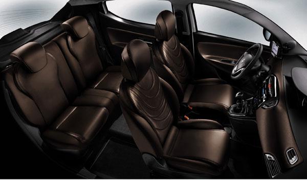 Lancia Ypsilon 2011 asientos