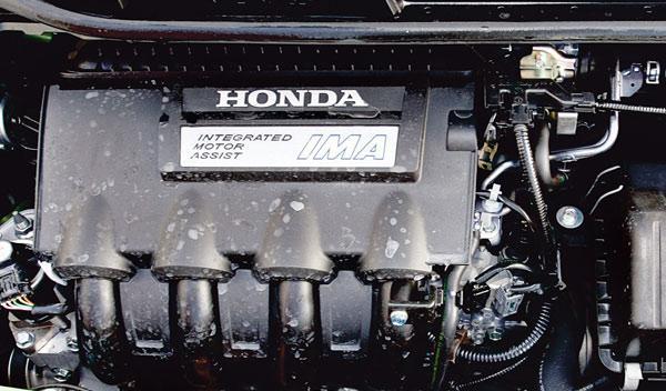 honda jazz hibrido ima motor