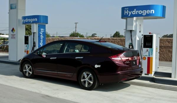 Honda FCX Clarity estacion hidrogeno