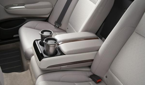 Honda FCX Clarity asientos delanteros