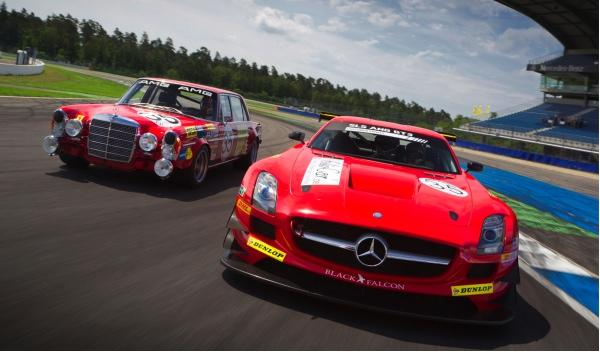 Mercedes SLS AMG GT3 Mercedes 300 SEL 6.8 AMG