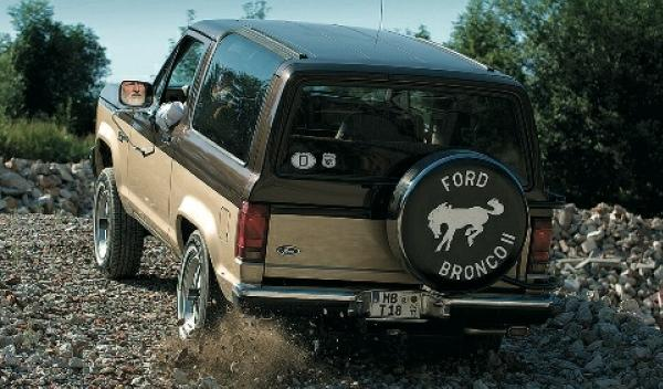 Ford Broncano II Fabian todoterreno trasera