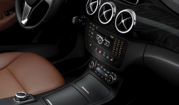 Mercedes Clase B consola