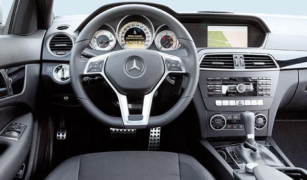 Interior Mercedes C 250 CDI Coupé