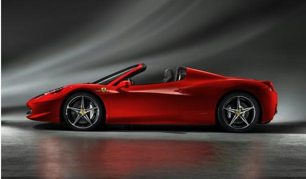 ferrari-458-spider-lateral