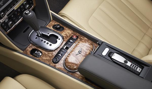 Cambio Quick Shift del nuevo Bentely Continental GTC