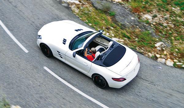 Capota del Mercedes SLS AMG Roadster