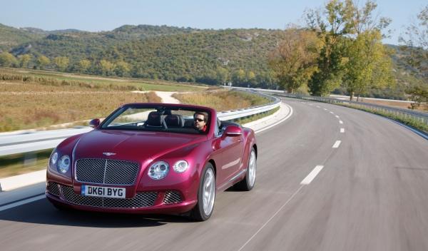 Bentley Continental GTC delantero