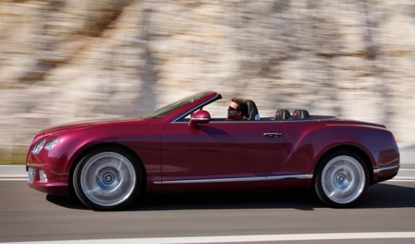 Bentley Continental GTC lateral