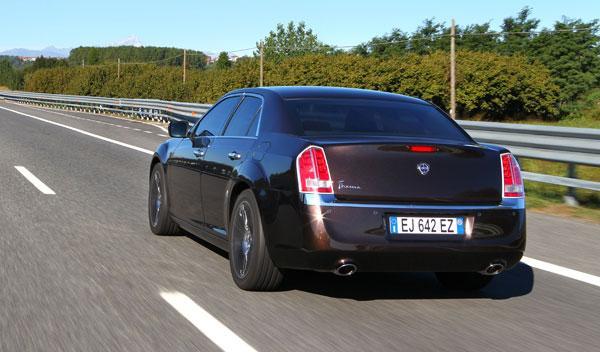Zaga del nuevo Lancia Thema