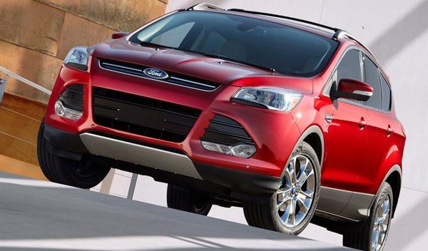 Ford Kuga frontal