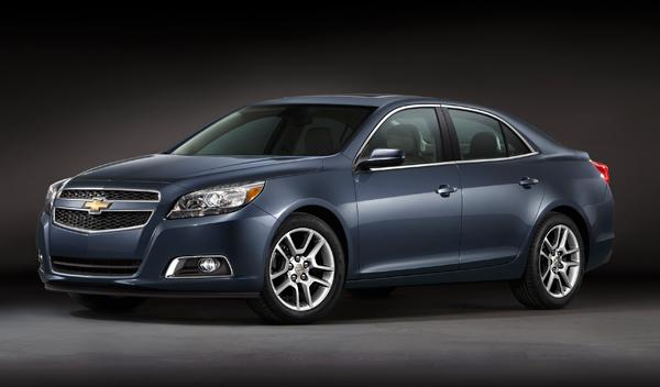 Chevrolet Malibu Eco frontal
