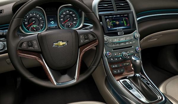Chevrolet Malibu Eco interior