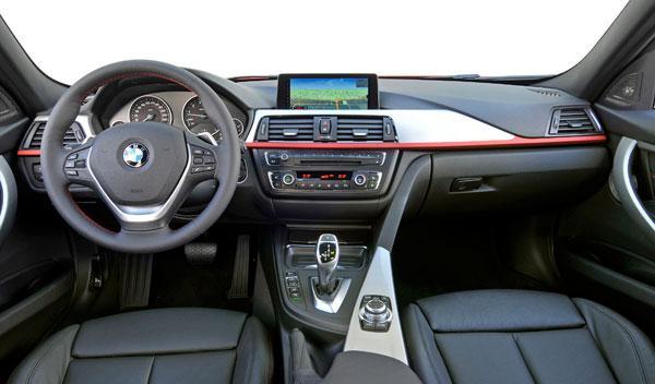 bmw serie 3 f30 interior