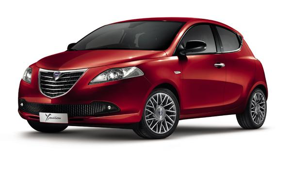 Lancia Ypsilon Black&Red frontal