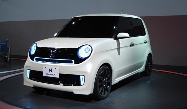 Honda N concept 4 Salón de Tokio 2011