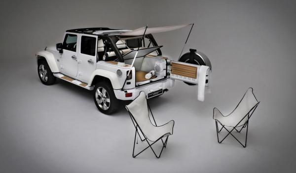 Jeep Wrangler Unlimited Nautic Concept Trasera