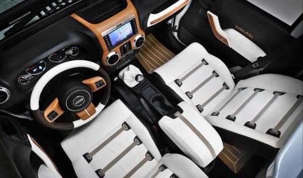 Jeep Wrangler Unlimited Nautic Concept Salpicadero