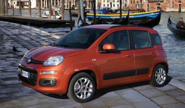Fiat Panda 2012 frontal