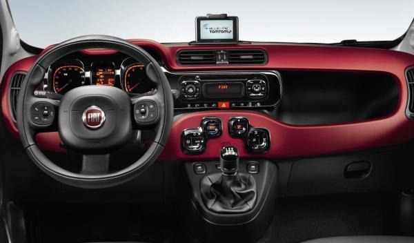Fiat Panda 2012 interior
