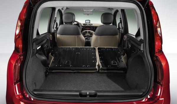 Fiat Panda 2012 maletero