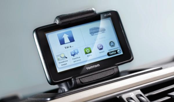 Fiat Panda 2012 navegador TomTom
