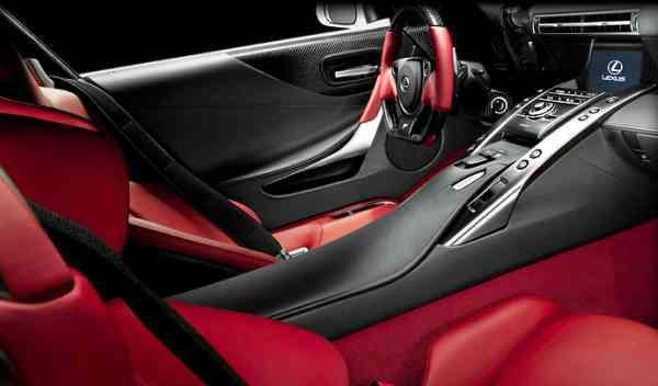 Lexus LFA interior