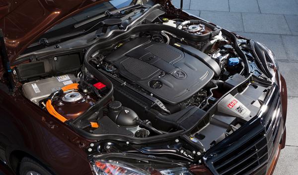 Mercedes E 400 Hybrid motor