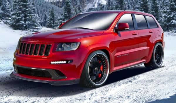 Jeep Grand Cherokee SRT8 HPE 800 delantera