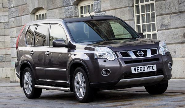 Nissan X-Trail Platinum Edition frontal