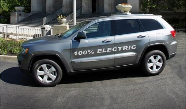 Jeep Grand Cherokee eléctrico Lateral
