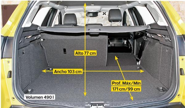ford focus  sportbreak 1.6 ecoboost titanium maletero