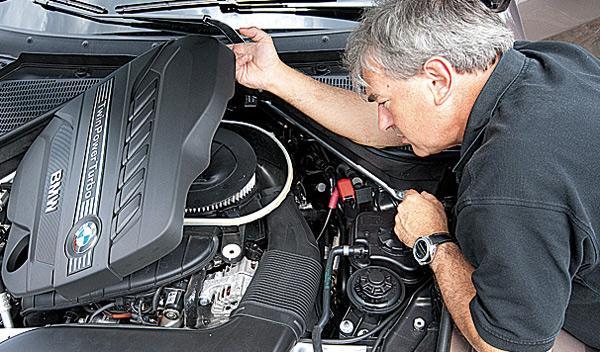 BMW X5 remolque motor
