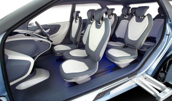 Hyundai Hexa Space Concept asientos