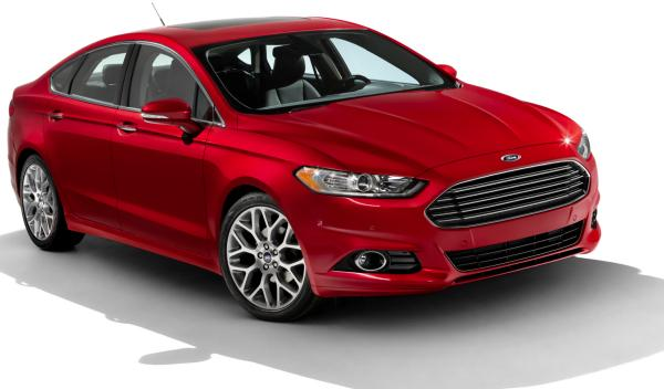 Frontal Ford Fusion