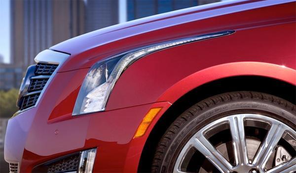 Cadillac ATS faros - Salón de Ginebra 2012