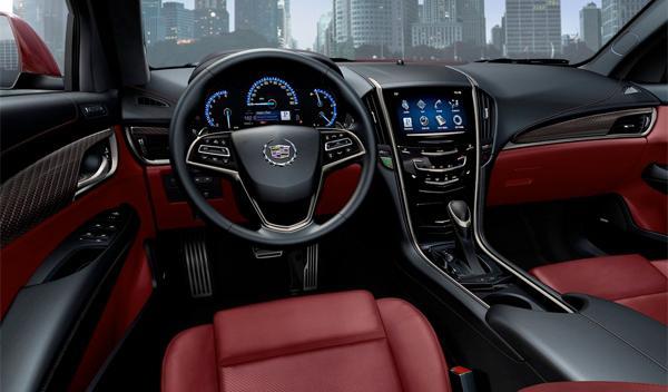 Cadillac ATS interior - Salón de Ginebra 2012