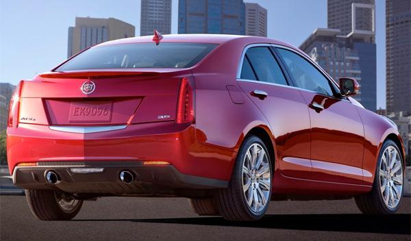 Cadillac ATS trasera - Salón de Ginebra 2012