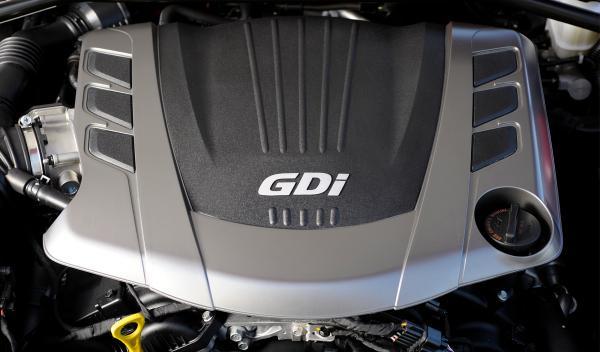Hyundai Genesis Coupe motor