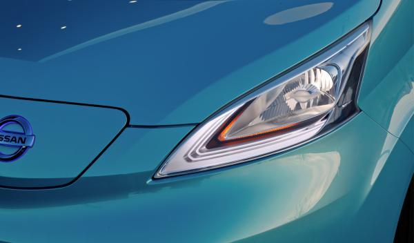 Nissan e-NV200 Concept faro