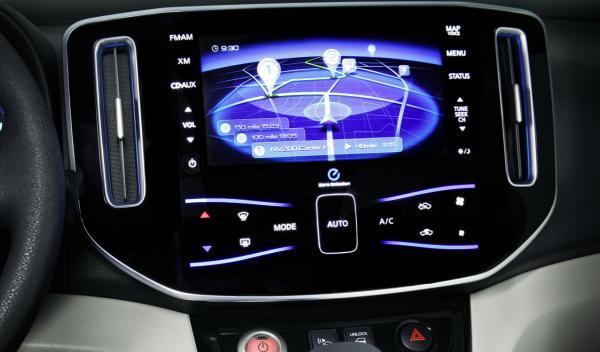 Nissan e-NV200 Concept navegador