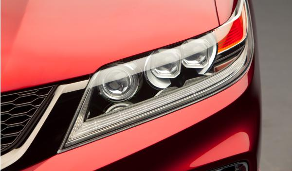 Honda Accord Coupé luces