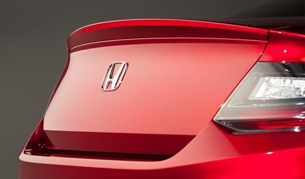 Honda Accord Coupé maletero