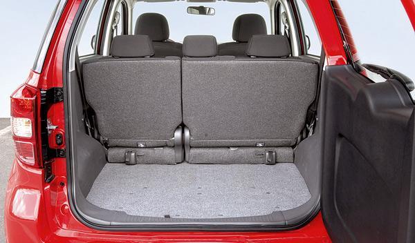 Daihatsu terios 4x4 maletero