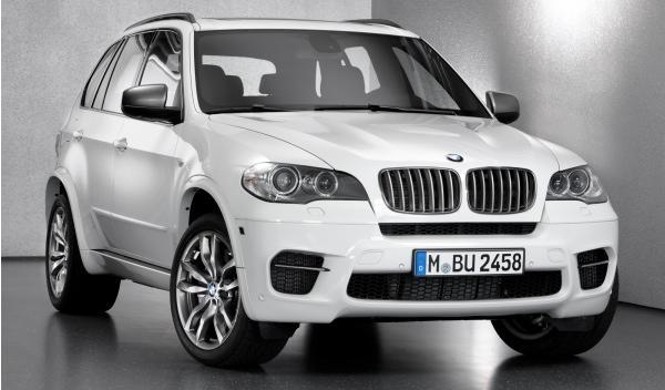 Delantera del BMW X5 M50d