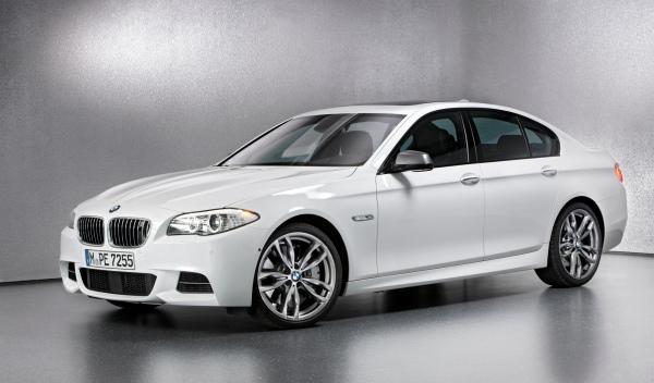 BMW M550d xDrive frontal lateral