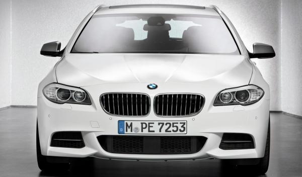 BMW M550d xDrive frontal